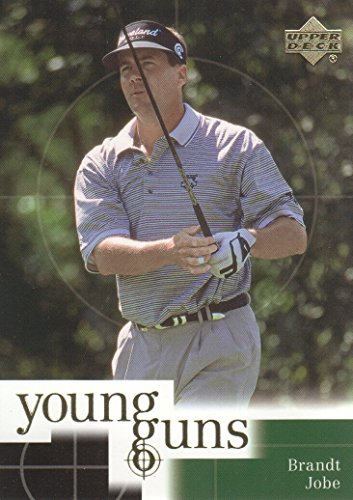 (2001 Upper Deck Golf #74 Brandt Jobe Young Guns )