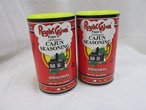 Ragin' Cajun Fixin's All Purpose Cajun Seasoning 8oz (Pack of -