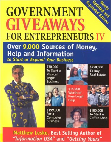 Government Giveaways for Entrepreneurs IV
