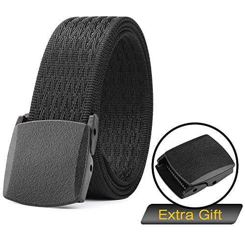 - Nylon Belts for Men with Plastic Buckle,SUOSDEY Military Belt Tactical for Outdoor Hiking