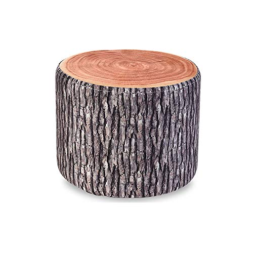 LifeX Funny Home Living Room Children Fruit Stool Small Solid Wood Sofa Stool Round Small Creative Fabric Bench Chair for Adults Change Shoe Bench for Indoor and Outdoor (Dia31H25CM)