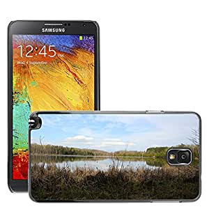 Hot Style Cell Phone PC Hard Case Cover // M00307633 Lake Summer Sky Landscape Nature // Samsung Galaxy Note 3 III N9000 N9002 N9005