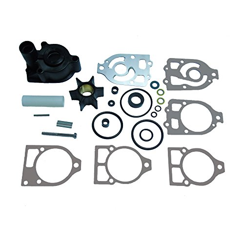 (JingSer Water Pump Impeller Kit for Mercury Mercruiser Alpha One Replacement 46-96148A8 46-96148Q8)
