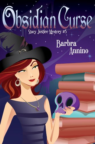 Obsidian Curse A Stacy Justice Mystery Book 5 By Annino Barbra
