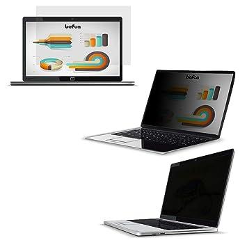befon Premium - Filtro de privacidad y Protector de Pantalla para Ordenador portátil 310x174mm(14