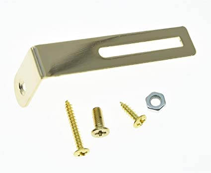 KAISH Gold LP Pickguard Bracket Scratch Plate Bracket W/Screws For Les Paul