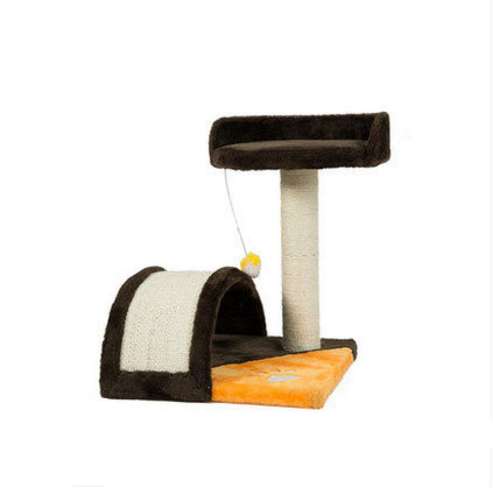 B Cat Climbing Frame Durable Sisal Design Multifunction Predection Scratch Toy Bed Easy To Assemble For Cat,B