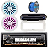 Best JVC XO Vision Bluetooth Audio Receiver For Cars - JVC KD-R97MBS In-Dash Marine Boat Bluetooth Radio USB Review