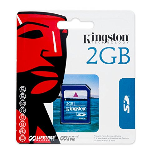 Kingston 2 GB SD Flash Memory Card SD/2GB by Kingston (Image #2)