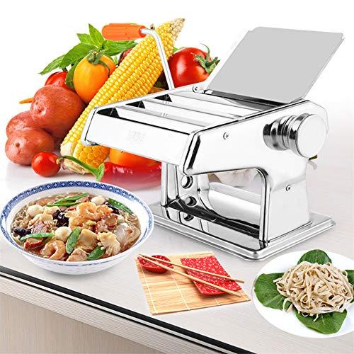 CRZJ Máquinas para Pasta manuales Máquina Multifuncional de Pasta de Acero Inoxidable. Máquina de Pasta Manual de prensado...