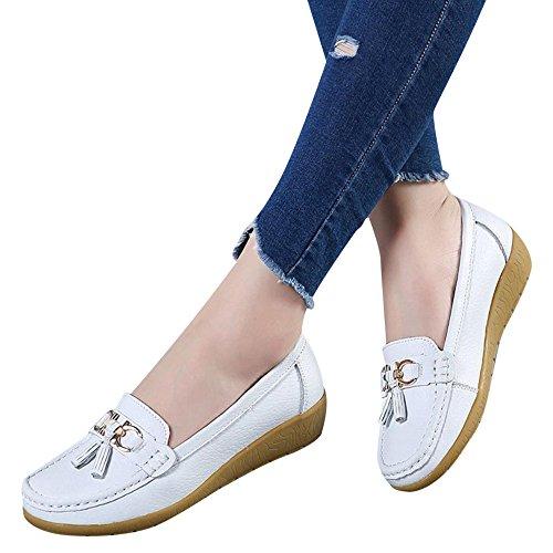 Fond Compensée Pas Blanc Cher Bottines Mou Chaussures Femme Marche Chaussure Magiyard Pois De q8At1TTa