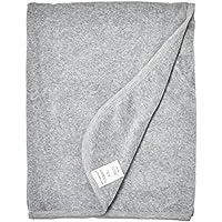 Burt's Bees Baby - Velour Stroller Blanket, 100% Organic Cotton (Heather Grey...