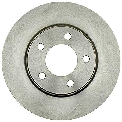 ACDelco 18A1248A Advantage Non-Coated Front Disc Brake Rotor: Automotive