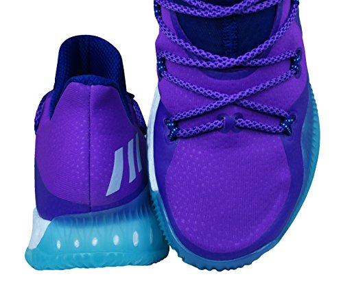 adidas Crazy Explosive Low, Scarpe da Basket Uomo Multicolore (Puruni/Ftwbla/Mensen)