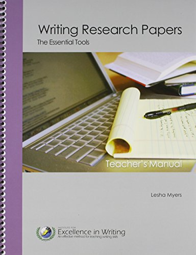 Writing Research Papers: The Essential Tools (Student Book only)