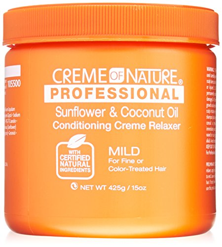 Creme of Nature Professional Sunflower and Coconut Oil Conditioning Relaxer, Mild Formula, 15 Ounce -