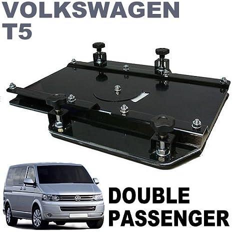 kiravans VW T5 doppelt Sitz Schwenk UK Rechte Hand Drive Modell: Van ...