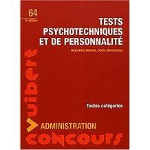 tests psychotechniques et de personnalite-concours administration 3e ed. (no. 64)