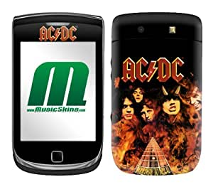 MusicSkins MS-ACDC40199 BlackBerry Torch - 9800