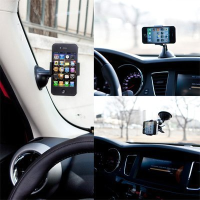 Clipper Car Mount Universal Vehicle Swivel Holder For Samsung Galaxy Note 2 N7100