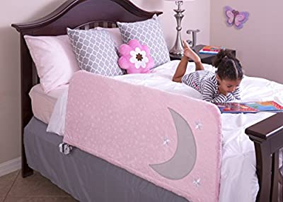 Toddler Bed Rail Cover with Fun Inside Pocket - for Children's Bed Rails, Kids Safety Guard Rails, Side Rails by Cosie Covers