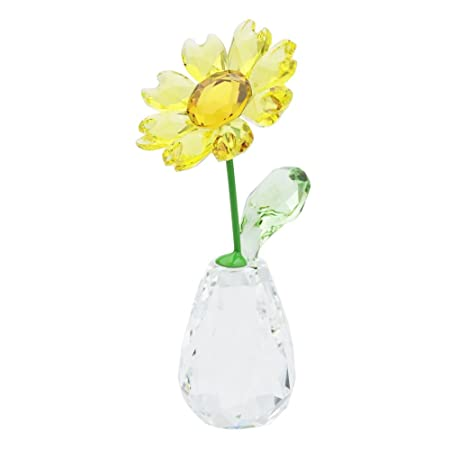 2b6de13f1 Swarovski Flower Dreams-Sunflower, Crystal, Multicoloured, 7.1 x 3.2 x 3.4  cm: Amazon.co.uk: Kitchen & Home