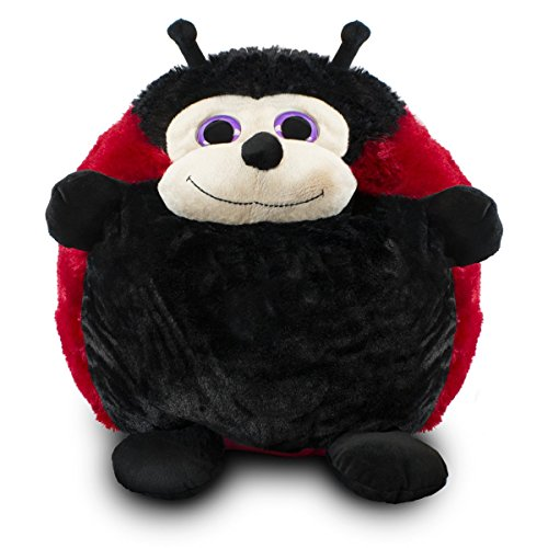(Lucy the Roly Poly Ladybug Stuffed Animal for Kids - 20 Inch Tall Plush)