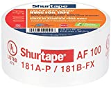 Shurtape AF 100 UL 181A-P/B-FX Listed/Printed Aluminum Foil HVAC Tape with EasyPeel Paper Liner, HVAC Joint Sealing Tape, 2.5'' x 60 Yards, Silver, 1 Roll (155206)