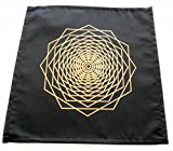 Crystal Grid Cloth Sacred Geometry Dodeca Fractal Design by earthegy