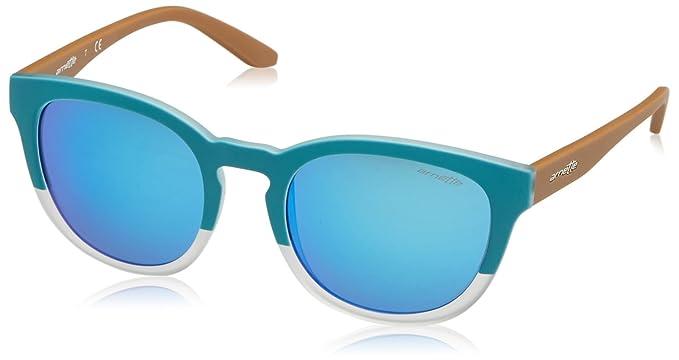 Arnette Cut Back, Gafas de Sol para Hombre, Turquoise/Matte Crystal, 53