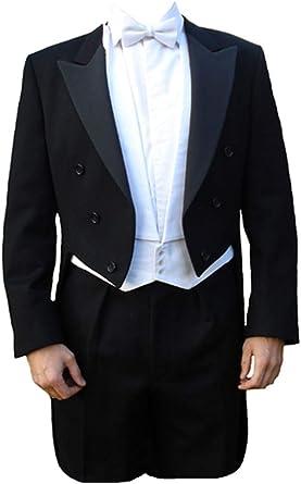 "Poly-Wool White Tie Tailcoat 46/"" Regular"