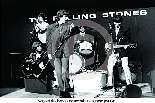 The Rolling Stones - Ready Steady Go - PAPER POSTER - Measures 36 x 24 inches ( 91.5 x 61 cm ) approx.