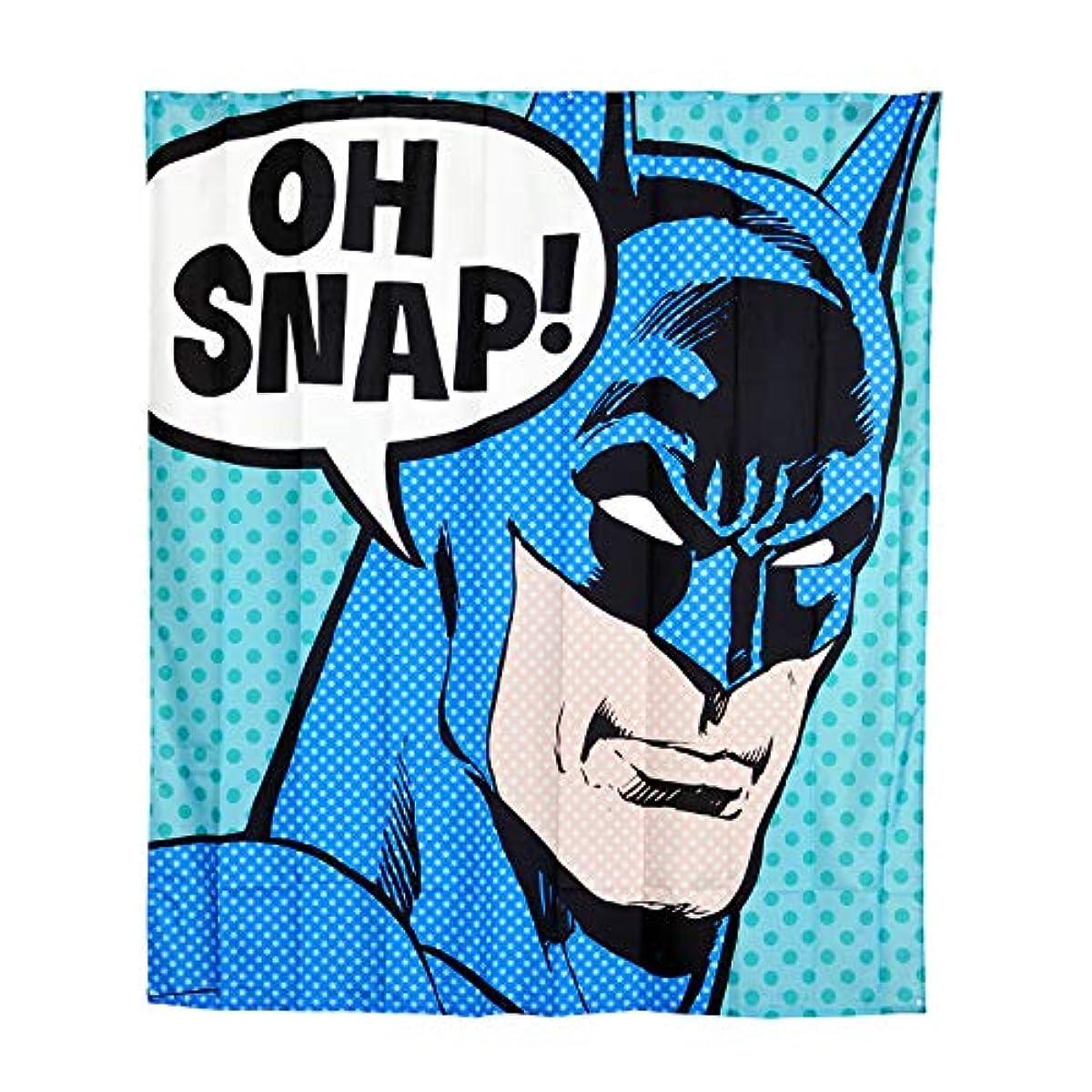 Batman Shower Curtain Oh Snap Wall Banner 180x200cm DC Comics Elbe Forest Blue
