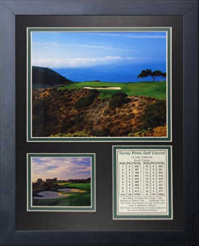 """Legends Never Die Torrey Pines Golf Course II Hole #3 Collage Photo Frame, 11"""" x 14"""""""