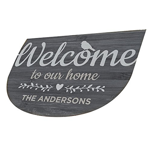 Name Door Mat - GiftsForYouNow Welcome To Our Home Personalized Doormat