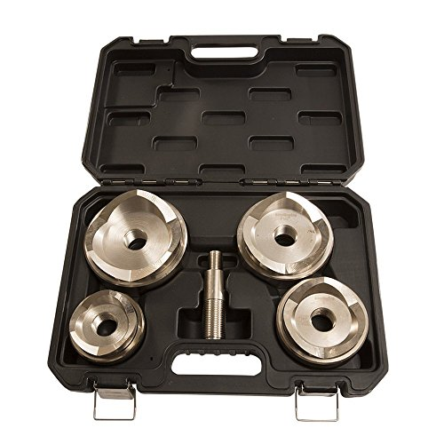 Stainless Punch - Southwire MP-03PRO Max Punch Large Die Set for Stainless Steel 2 1/2-inch - 4-inch - in 1 Case (Drive Unit Not Included)