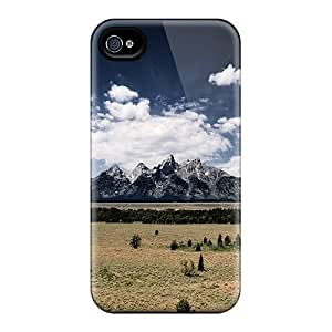 Hot Cqf2563VNln Cases Covers Protector For Iphone 6- Mountain Landscape