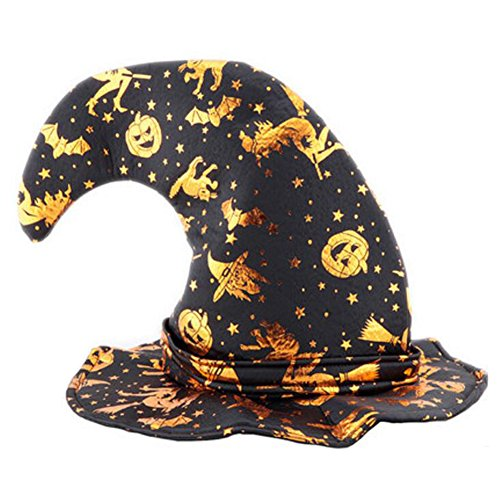 George Jimmy Halloween Costume Party Dress Up Witch Hat Tip Cap Cosplay Party -
