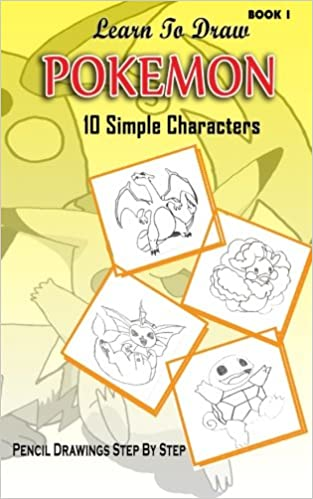 Learn To Draw Pokemon 10 Simple Characters Pencil Drawing Step By