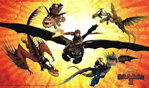 [해외]Animewild 훈련 방법 용 2 드래곤 라이더 그룹 스티커 / Animewild How To Train Your Dragon 2 Dragon Riders Group Sticker