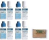 Nimrod's Wares 4-Pack Aquamira Water Treatment Drops Kills Bacteria Survival 30 gal. 67202 with Microfiber Cloth