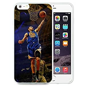 Case Cover For Apple Iphone 6 4.7 Inch Design with Golden State Warriors Stephen Curry PC Case Cover For Apple Iphone 6 4.7 Inch in White