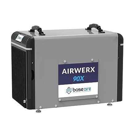 Amazon com: BaseAire Basement Dehumidifier AirWerx90X, Crawl