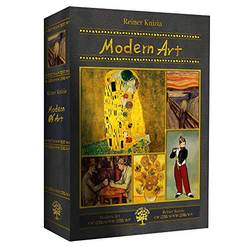 - Modern Art Board Game Korean Edition