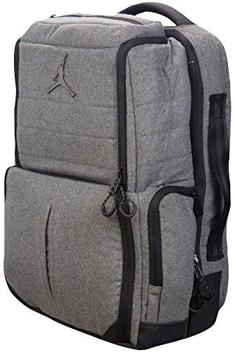 Nike Air Jordan Collectors Backpack - Carbon Heather 9A1861 ()