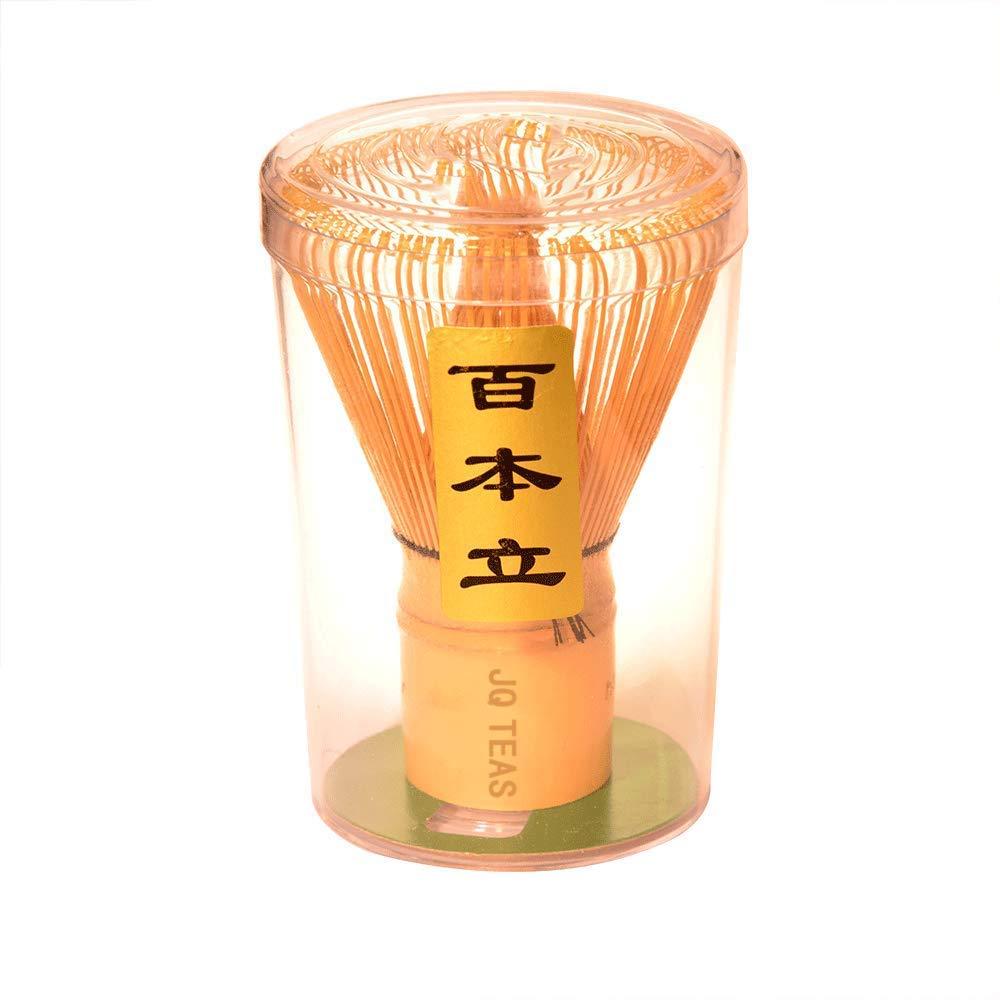 ARTDOU Golden Bamboo Matcha Green Tea Whisk Chasen, Matcha Stirrer 100 Prong