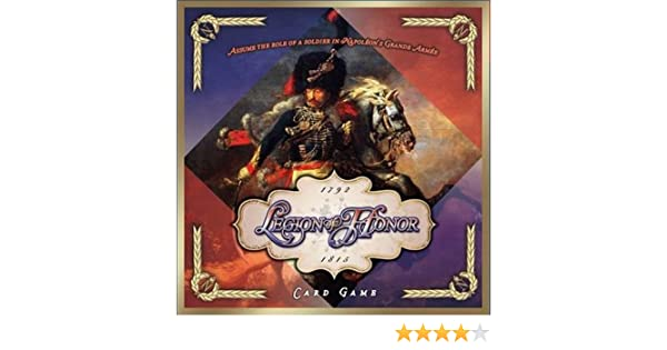 English Card-Driven Boardgame by Clash of Arms Legion of Honor New