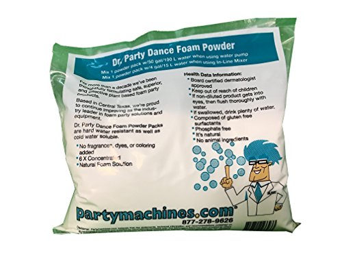 Foam Powder Pack for a Foam Machine