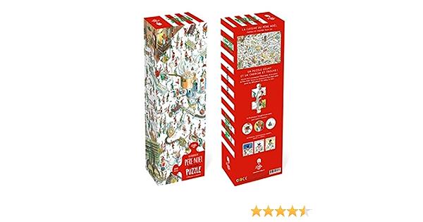 Puzzle Geant A La Recherche Du Pere Noel Jeux French Edition Clement Loic Montel Anne 3701167150047 Amazon Com Books