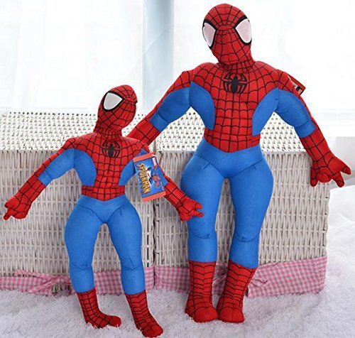 30cm Spiderman Doll Plush Toys Cartoon Standing Sitting Amazing Spider Man Stuffed Doll Toys Kids Birthday Gifts by ToySDEPOT